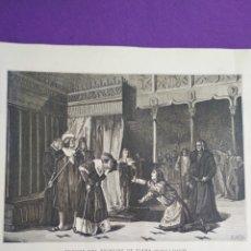 Coleccionismo: LAMINA PRISIÓN DEL PRÍNCIPE DE VIANA (SALA Y FRANCÉS). Lote 195371115