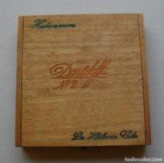 Coleccionismo: CAJA DE PUROS HABANOS DAVIDOFF Nª2 CUBA (( 10 DAVIDOFF)) VACIA/ COLC (MUY BUEN ESTADO). Lote 195391641