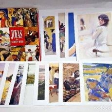 Coleccionismo: COLECCION DE CARPETA JOYAS DE BLANCO Y NEGRO.. Lote 195426488