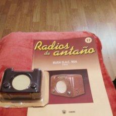Coleccionismo: RADIOS DE ANTAÑO BUSH D.A.C. 90A AÑO 1950. Lote 195447977