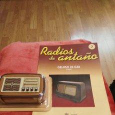 Coleccionismo: RADIOS DE ANTAÑO GELOSO 26 G48 AÑO 1954. Lote 195448282