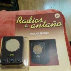 Coleccionismo: RADIOS DE ANTAÑO ROLAND BRANDT AÑO 1935. Lote 195448390