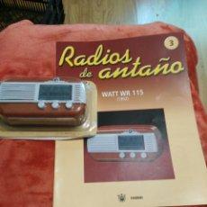 Coleccionismo: RADIOS DE ANTAÑO WATTWR115 AÑO 1952. Lote 195448665