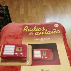 Coleccionismo: RADIOS DE ANTAÑO EMERSON AX235 AÑO 1938. Lote 195448821