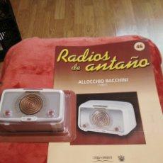 Coleccionismo: RADIOS DE ANTAÑO ALLOCCHIO BACCHINI AÑO 1951. Lote 195448968
