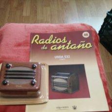 Coleccionismo: RADIOS DE ANTAÑO UNDA 532 AÑO 1941. Lote 195452073