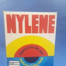 Coleccionismo: PAQUETE DE DETERGENTE NYLENE , AÑOS 1970. Lote 195503475