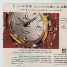 Coleccionismo: ANUNCIO PUBLICIDAD RELOJ OMEGA-CAVA CODORNIU. Lote 195504472