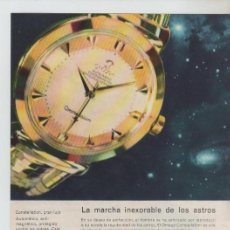 Coleccionismo: ANUNCIO PUBLICIDAD RELOJ OMEGA-MANTA ELECTRICA KOLSTER. Lote 195504541