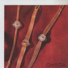 Coleccionismo: ANUNCIO PUBLICIDAD RELOJ OMEGA-JABONES ZZ DIBUJO DE MINGOTE. Lote 195504725