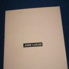Coleccionismo: JOSÉ LUCAS TARJETA INVITACIÓN CIEZA MURCIA 1997. Lote 195511543