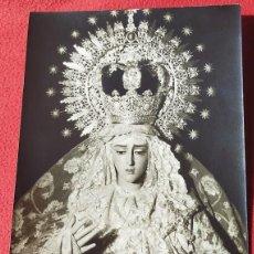 Coleccionismo: LÁMINA/FOTO EN B/N DE NUESTRA SEÑORA DE LA CARIDAD, CAPILLA DEL BARATILLO AÑOS 50. Lote 195517290