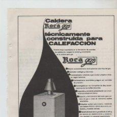 Coleccionismo: ANUNCIO PUBLICIDAD ELECTRODOMESTICOS ROCA. Lote 195550725