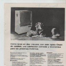 Coleccionismo: ANUNCIO PUBLICIDAD ESTUFAS OTSEIN. Lote 195550813