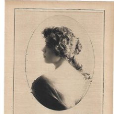 Coleccionismo: AÑO 1915 RECORTE PRENSA FOTOGRAFIA KAULAK CARMEN GASCON SANTANDER CONCURSO BELLEZA PREMIO. Lote 195894488