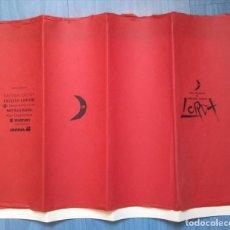 Coleccionismo: COMPAÑÍA DE TEATRO LA BARRAQUILLA. JAPÓN. TRES TRAGEDIAS DE FEDERICO GARCÍA LORCA. 1989. Lote 196172205