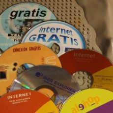 Coleccionismo: 10 CDS DE CONEXIÓN A INTERNET DE LOS 90/00. Lote 196335547