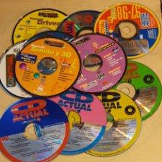 Coleccionismo: 11 CDS DE LA REVISTA CD ACTUAL. Lote 196336108