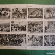Collezionismo: DIA DE LOS REYES MAGOS EN YECLA BILBAO CARTAGENA VIGO CUENCA ALMERÍA GIJÓN ZARAGOZA - 1/1929. Lote 196389230