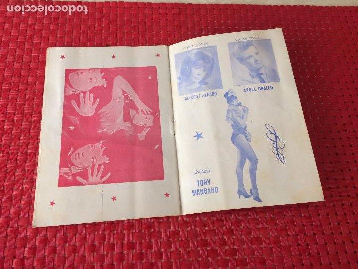 Coleccionismo: TEATRO VICO - JUMILLA ( Murcia ) - 14 DICIEMBRE 1965 - PROGRAMA DE REVISTAS - ESPECTÁCULOS IRIS - Foto 5 - 197101482