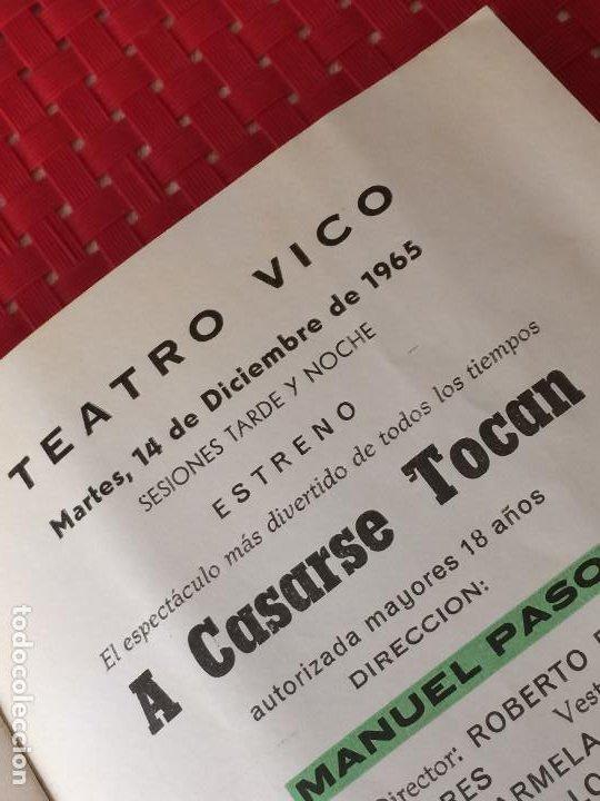 Coleccionismo: TEATRO VICO - JUMILLA ( Murcia ) - 14 DICIEMBRE 1965 - PROGRAMA DE REVISTAS - ESPECTÁCULOS IRIS - Foto 7 - 197101482