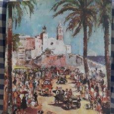 Coleccionismo: SITGES 1970 RALLYE INTERNACIONAL COCHES DE EPOCA BARCELONA SITGES. Lote 197167497