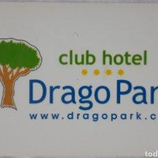 Colecionismo: LLAVE PLÁSTICO HOTEL DRAGO PARK. Lote 197479493