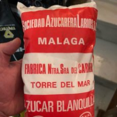 Coleccionismo: ANTIGUA BOLSA DE AZÚCAR SOCIEDAD AZUCARERA LARIOS. Lote 197592305