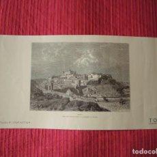 Coleccionismo: PANORÁMICA DE LA CIUDAD DE TOLEDO / PH. BENOIST / J. LAURENT. Lote 198932195