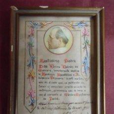 Collezionismo: PIO XII.BENDICION APOSTOLICA E INDULGENCIA PLENARIA.VATICANO 24/11/1951.. Lote 198943747