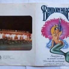 Collectionnisme: BENIDORM PALACE Y HOLIDAY'S PHOTO S.L. BENIDORM - ESPAÑA. Lote 199203906