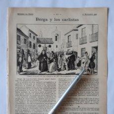 Collezionismo: BERGA Y LOS CARLISTAS.. Lote 199349611