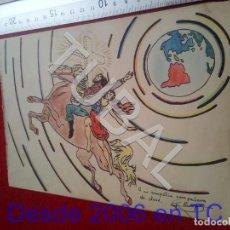 Collezionismo: TUBAL DIBUJO ORIGINAL FIRMADO B68. Lote 199659847