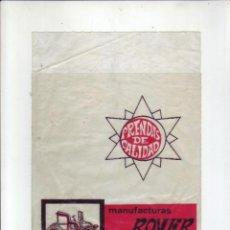 Coleccionismo: MANUFACTURAS ROVER (MATARO) - PRENDAS DE CALIDAD - ANTIGUO ENVASE. Lote 199701681