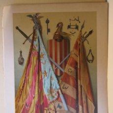 Collectionnisme: OBJETOS HISTORICOS DE VALENCIA Y DE SU CONQUISTADOR DON JAIME I. 34 X 24 CM.. Lote 199717091