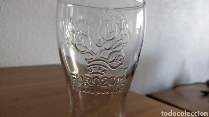 Coleccionismo: Lote 12 vasos promocionales Coca-Cola Euro 2012 - Foto 3 - 199985490