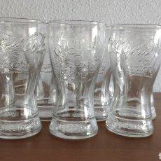 Coleccionismo: LOTE 12 VASOS PROMOCIONALES COCA-COLA EURO 2012. Lote 199985490