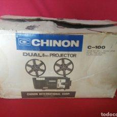 Coleccionismo: CHINON PROYECTOR DUAL 8MM C-100. Lote 200134025