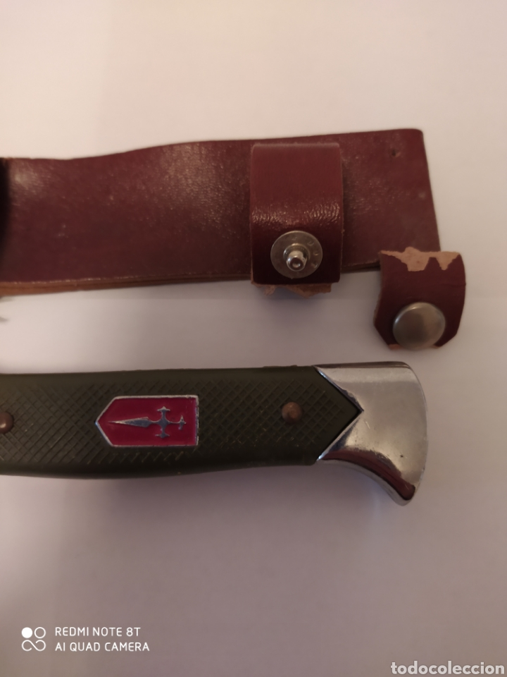 Coleccionismo: Machete de caza The Last Fighter Cruz Compostelana - Foto 3 - 201228491