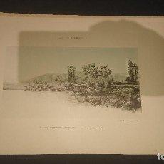 Coleccionismo: ANTIGUA LAMINA - AGUSTIN LHARDY - TAMARINDOS RIO NALON ASTURIAS - J. LAURENT FOTOG, LEER DESCRIPCION. Lote 296001658