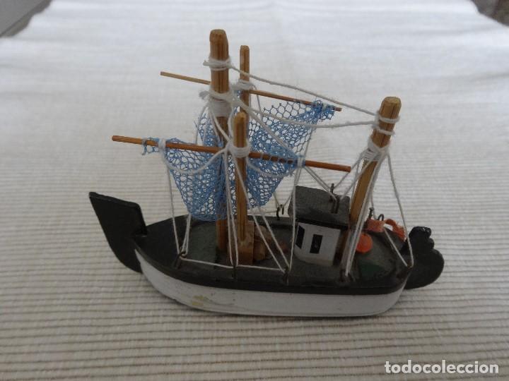 Coleccionismo: Miniatura barco de pesca holandés - Foto 2 - 202071951