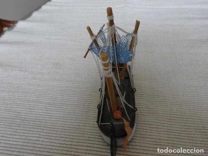 Coleccionismo: Miniatura barco de pesca holandés - Foto 3 - 202071951
