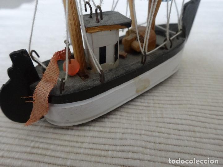 Coleccionismo: Miniatura barco de pesca holandés - Foto 4 - 202071951