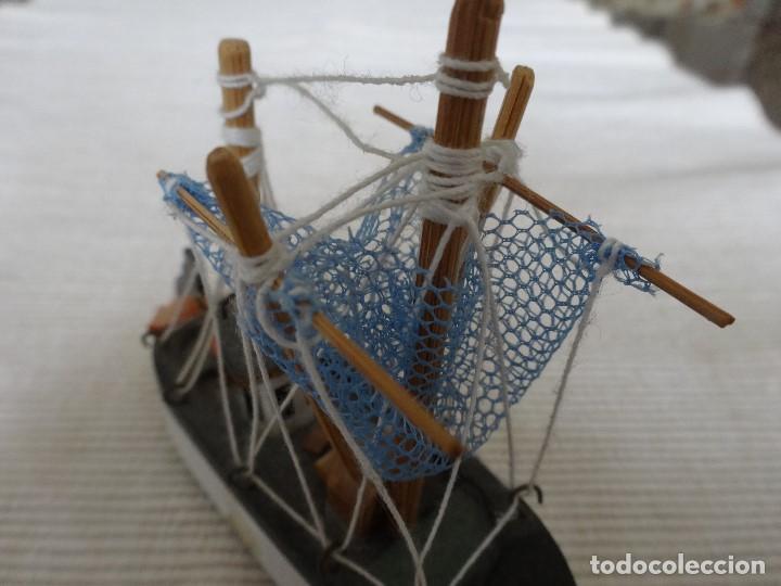 Coleccionismo: Miniatura barco de pesca holandés - Foto 5 - 202071951