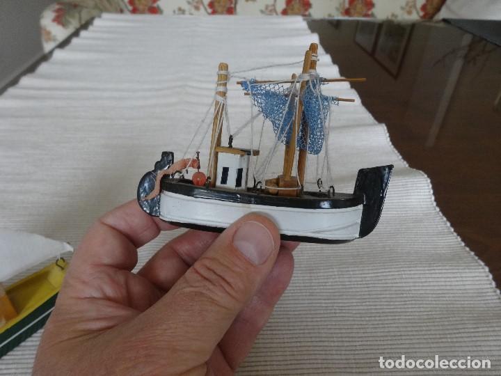 Coleccionismo: Miniatura barco de pesca holandés - Foto 7 - 202071951