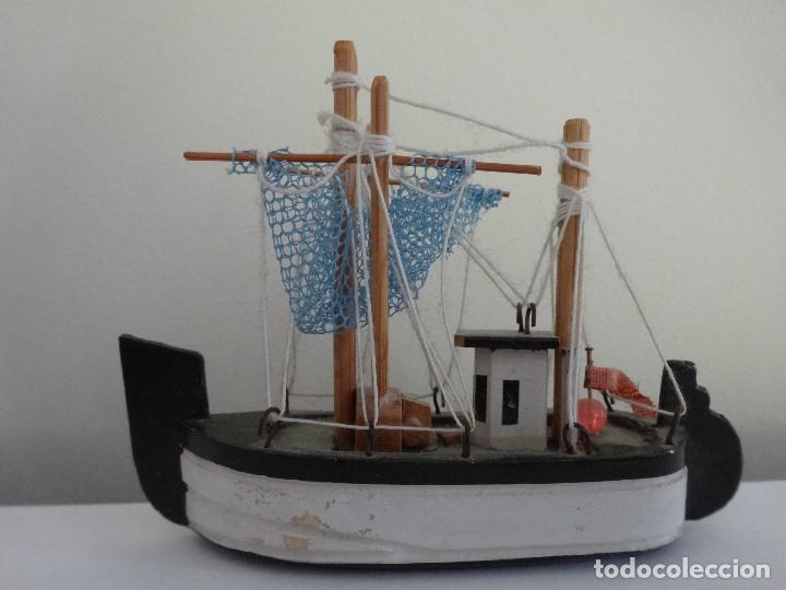 Coleccionismo: Miniatura barco de pesca holandés - Foto 8 - 202071951