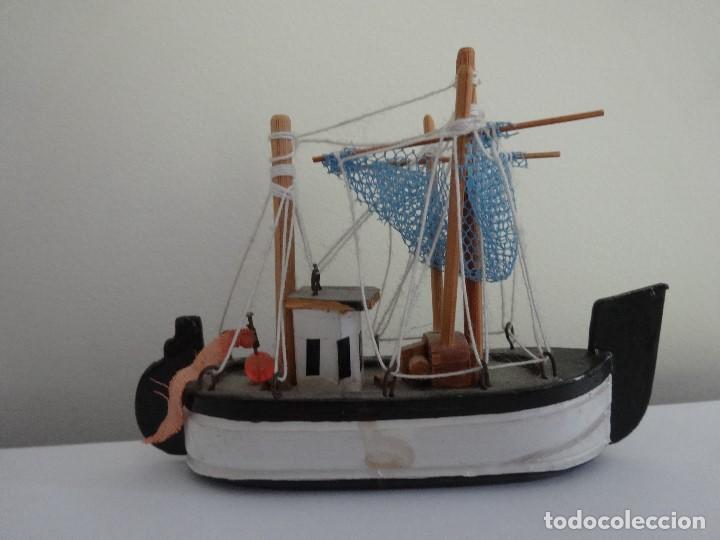 Coleccionismo: Miniatura barco de pesca holandés - Foto 9 - 202071951