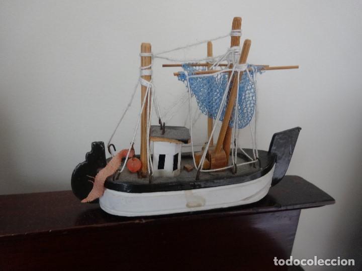 Coleccionismo: Miniatura barco de pesca holandés - Foto 11 - 202071951