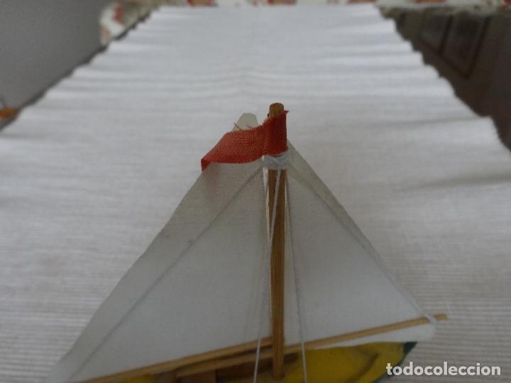 Coleccionismo: Miniatura barco de vela holandés - Foto 5 - 202072055