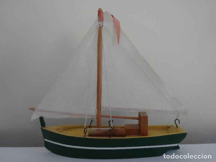 Coleccionismo: Miniatura barco de vela holandés - Foto 8 - 202072055